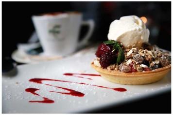 special offer tea coffee dessert