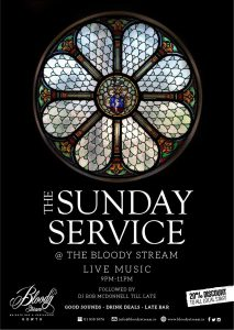 Sunday Service @ The Bloody Stream Howth